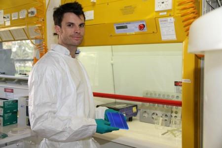 Matt with Solar Cell