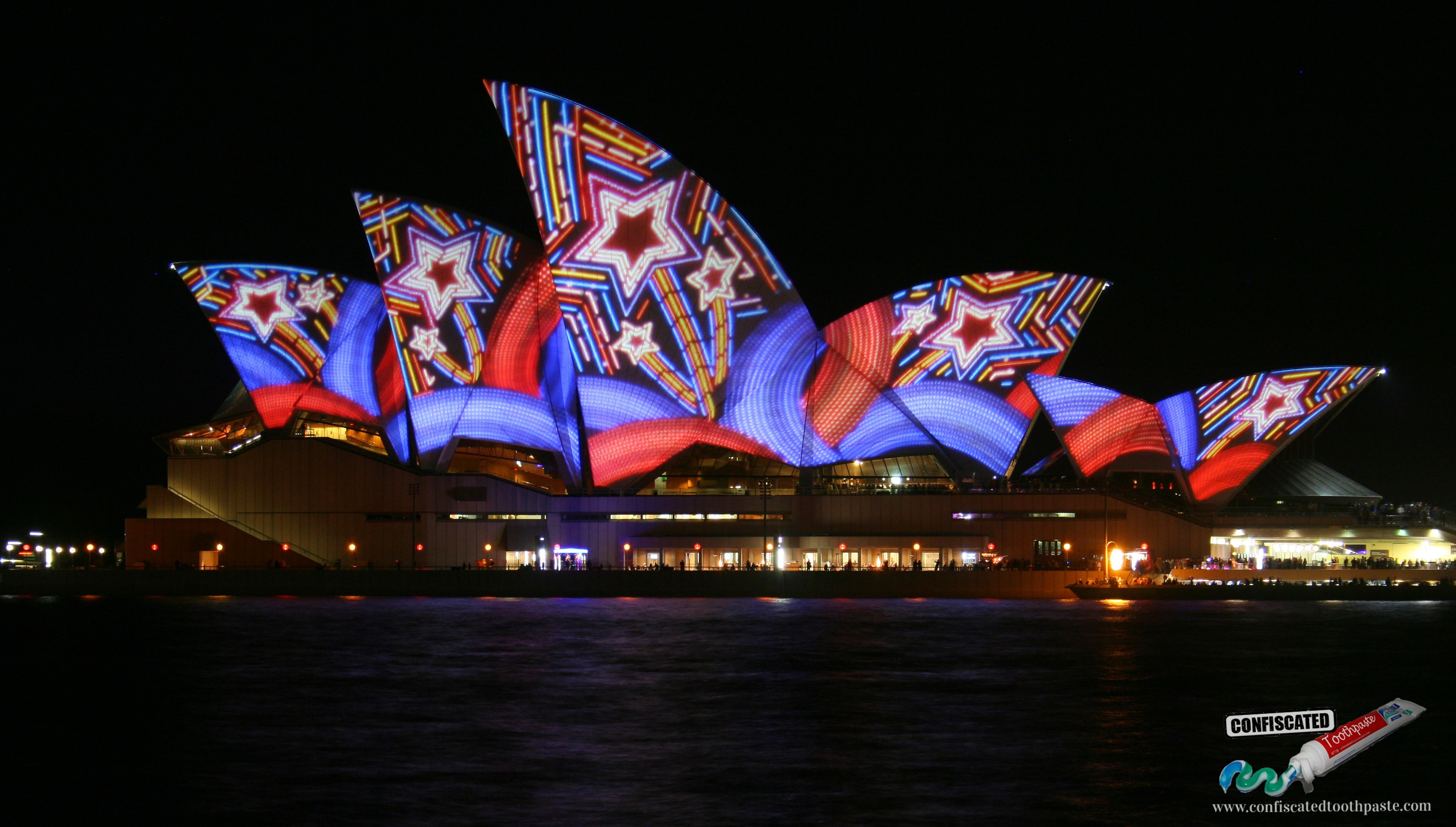 Sydney Harbour in Lights