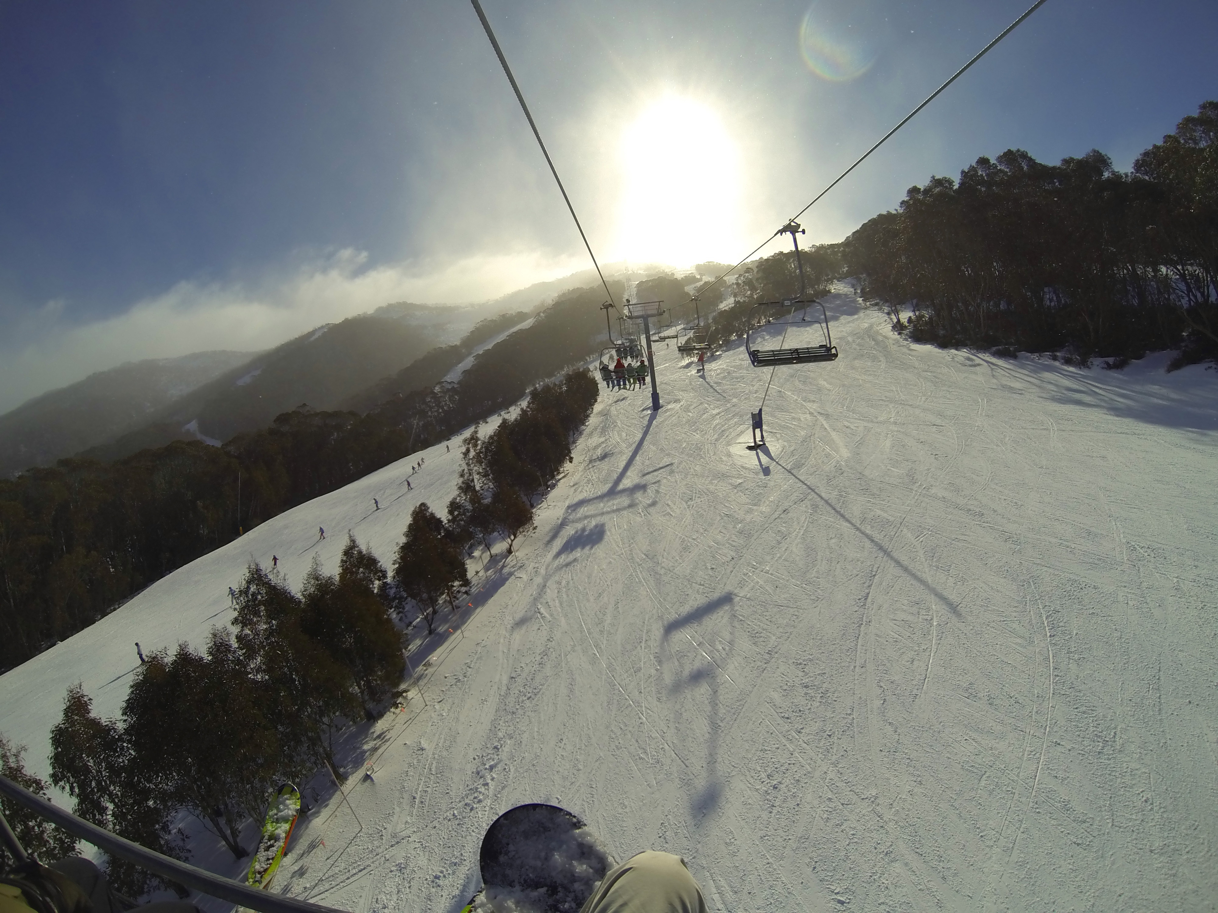 Snowboarding and Skiing in Australia