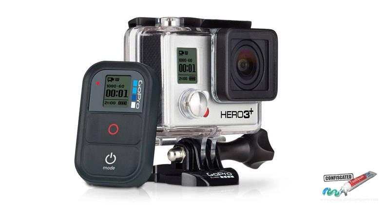 The GoPro Hero3+.. fun for travel