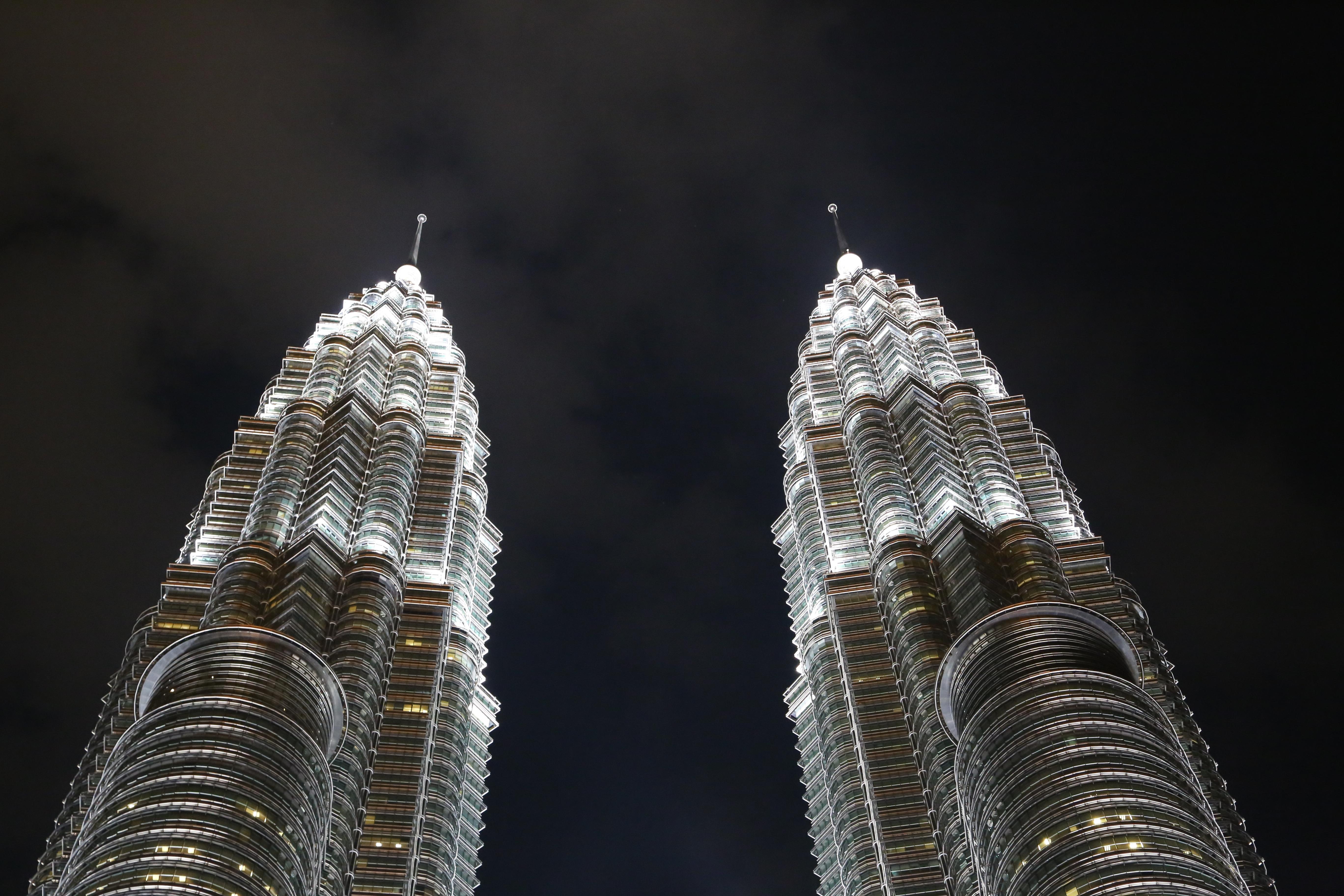 Petronas Towers Detail, Kuala Lumpur, Malaysia
