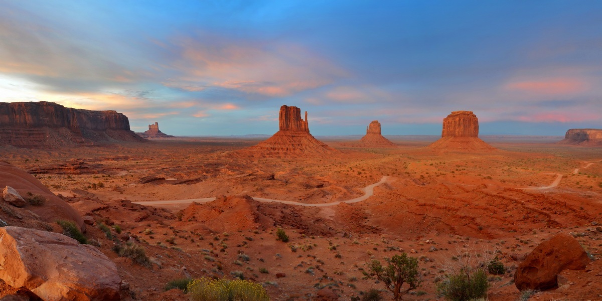 Monument Valley Panorama, USA
