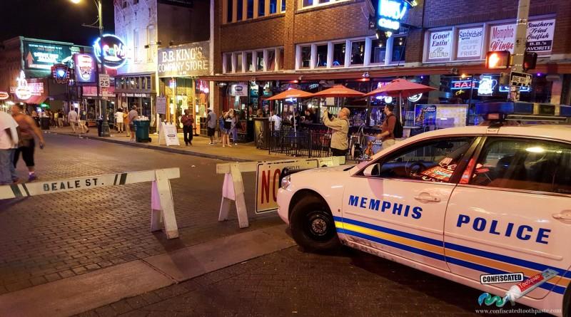 Police Car, Beale Street, Memphis USA