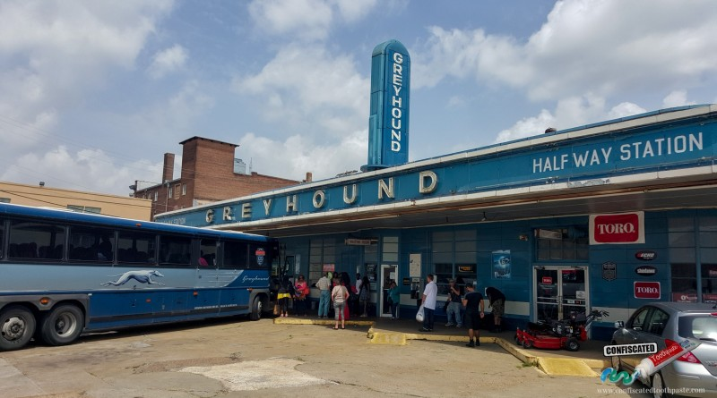 Art Deco Greyhound Bus Station, Jackson, Tennesee