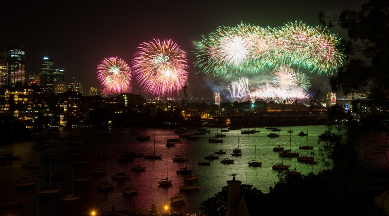 Sydney New Years Eve Fireworks 2015/2016 #1
