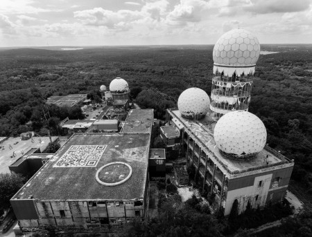 Field Station Berlin, an ex-US Spy Station built on a mountain of ruins from the war